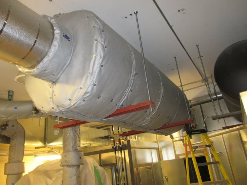 insulation blankets for silencers
