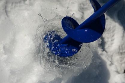 Eisfischen am Erlaufsee