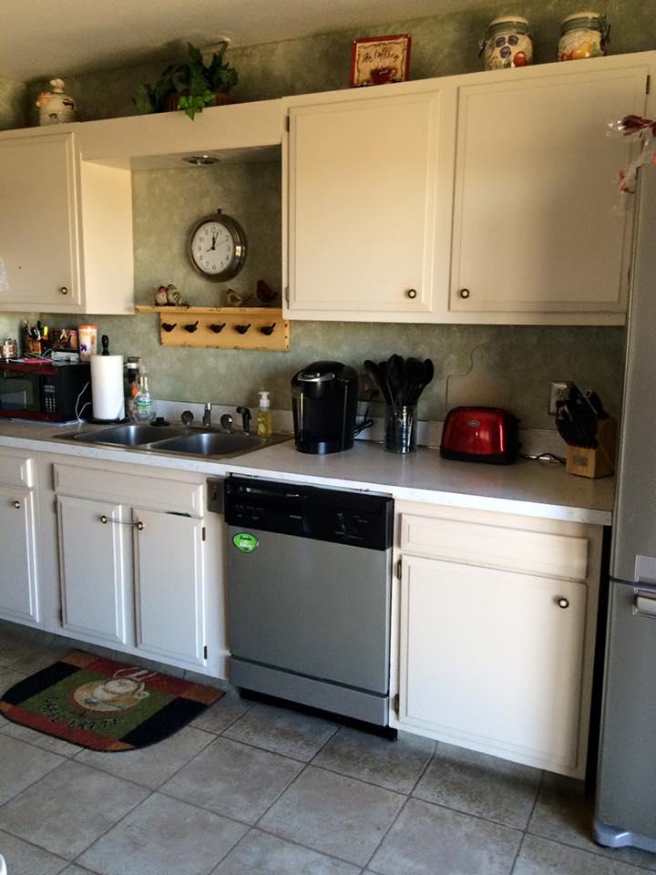 Original 1970s Kitchen Cabinets