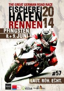 Plakat Fischereihafen-Rennen 2014