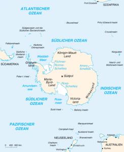 Die Antarktis - gibt es hier tatsächlich UFOs und eine Alien-Basis? (Bild: gemeinfrei)