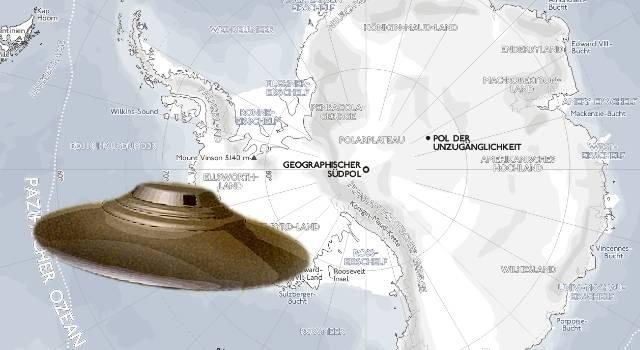 Wichtigtuer oder Whistleblower? Ein ehemaliger US-Navy-Pilot will während seines Dienstes in der Antarktis UFOs und eine Alien-Basis gesehen haben