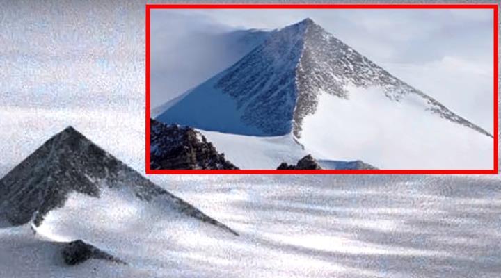 Ungläubiges Staunen in der Presse und bei Facebook: Wurden uralte Pyramiden im Eis der Antarktis entdeckt? (Update)