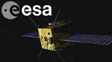 """Vertane Chance zur Rettung der Menschheit? ESA stoppt Asteroiden-Abwehr-Projekt """"Asteroid Impact Mission"""" (Bild ESA-Science Office)"""