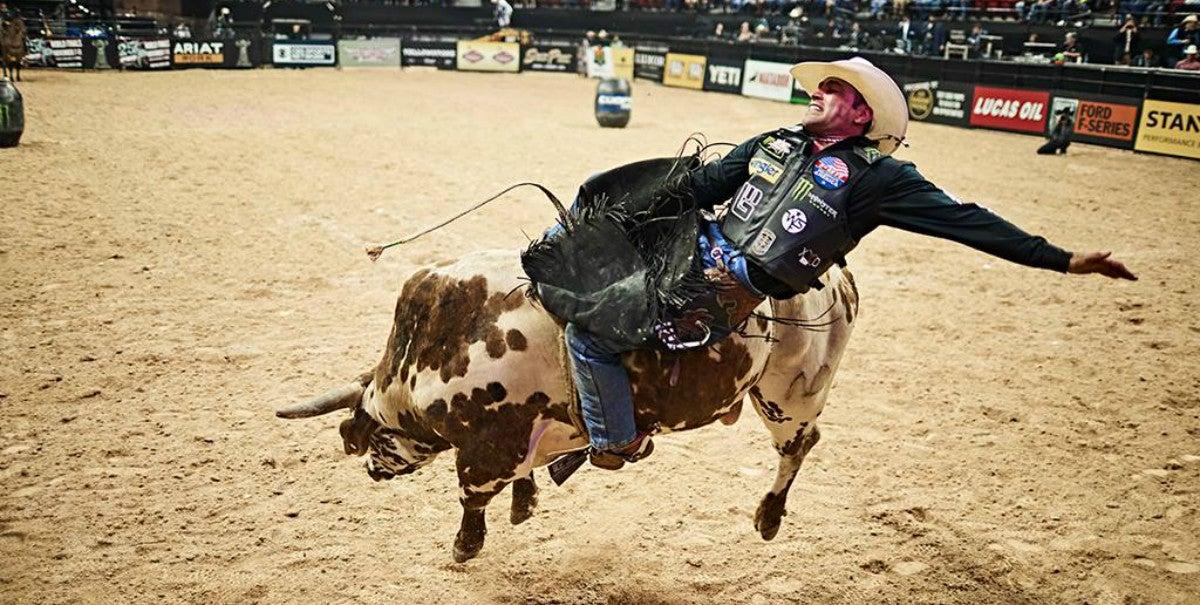 25th professional bull riders