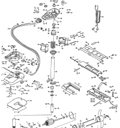 minn kota edge trolling motor parts diagram minn kota trolling minn kota all terrain 50 parts [ 1297 x 1747 Pixel ]