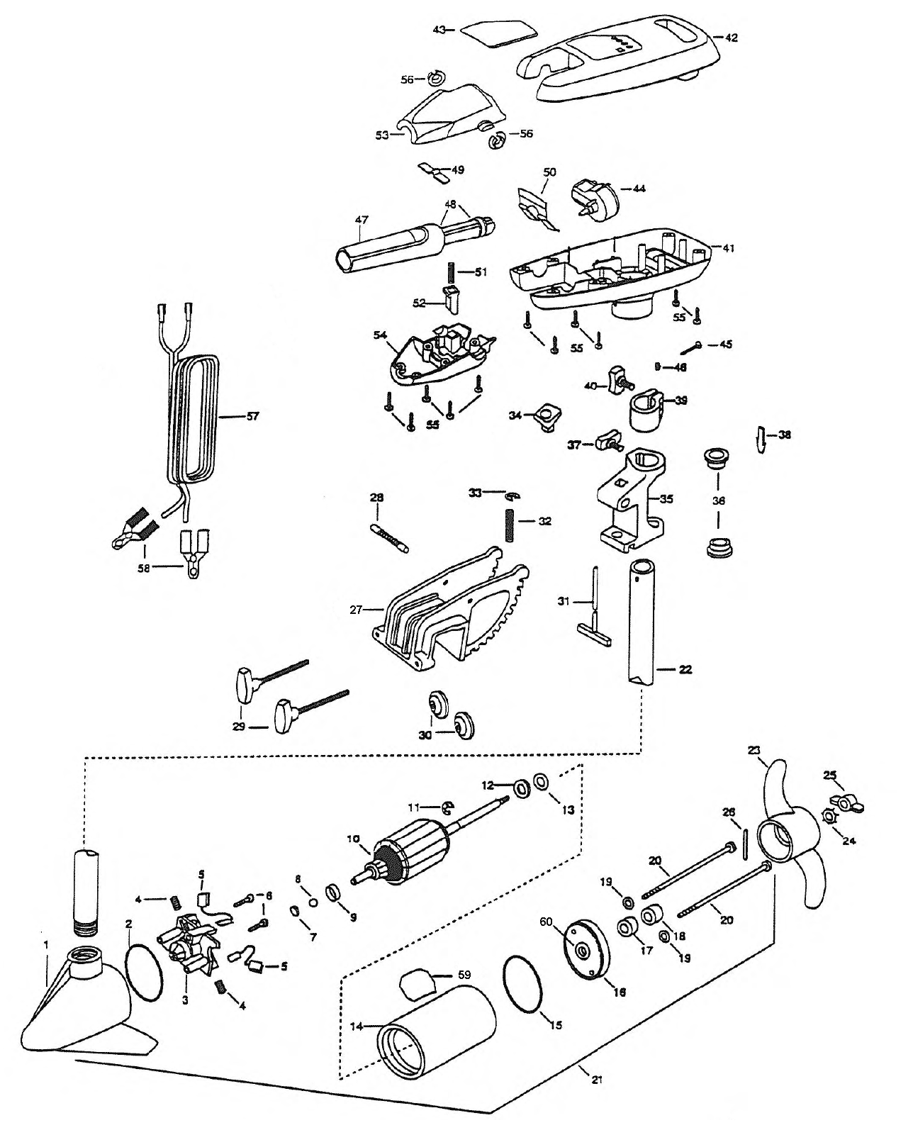 Wireless Trolling Motor Diagram