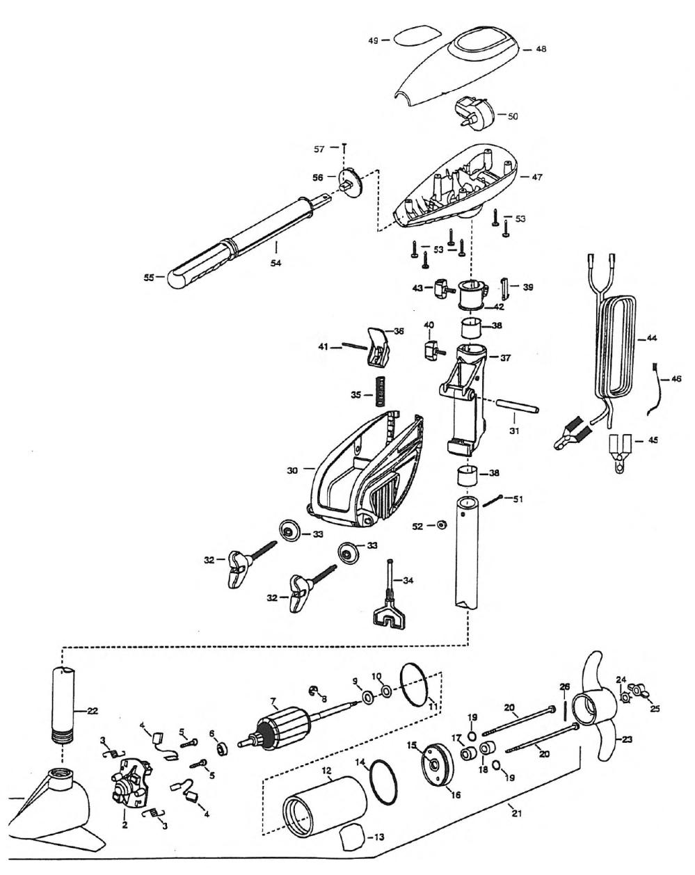 medium resolution of minn kota powermax 52 parts 1998 from fish307 comminn kota motor parts wiring diagrams 13