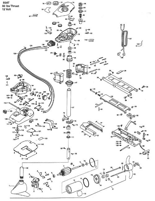 small resolution of minn kota all terrain diagram wiring schematic diagram 191minn kota all terrain 50 parts 1999 from