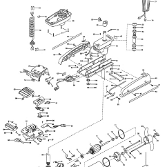 Minn Kota Fortrex 80 Parts Diagram 1977 Dodge Ignition Wiring Powerdrive 50 48 Inch 1999 From