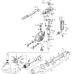Minn Kota Talon Wiring Diagram 24v Trailer Socket Endura 30 Parts 1999 From Fish307