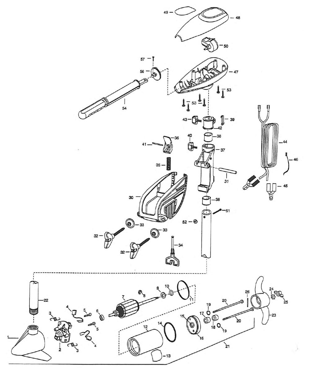 medium resolution of minn kota spider 48 parts 1999 from fish307 com minn kota endura 55 wiring diagram minn kota 12v wiring schematic