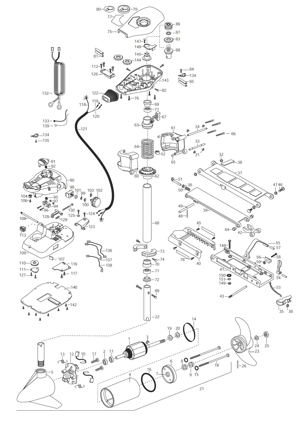 Minn Kota Endura 40 Wiring Diagram Minn Kota Power Drive