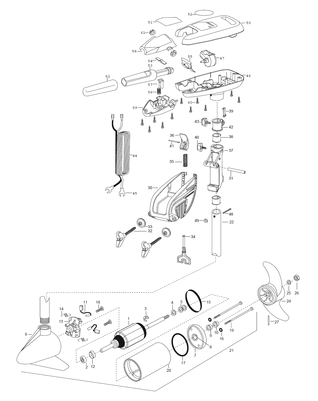 minn kota endura 50 parts diagram b s wiring diagrams cabela 39s 46 tournament 2003 from fish307