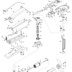 Minn Kota Fortrex 80 Parts Diagram Kenmore Washer Wiring Maxxum 55 Hand Control 2003 From Fish307