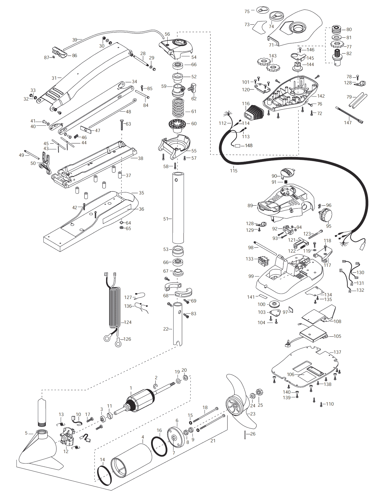 minn kota 24 volt wiring diagram basic trailer light 65 terrova