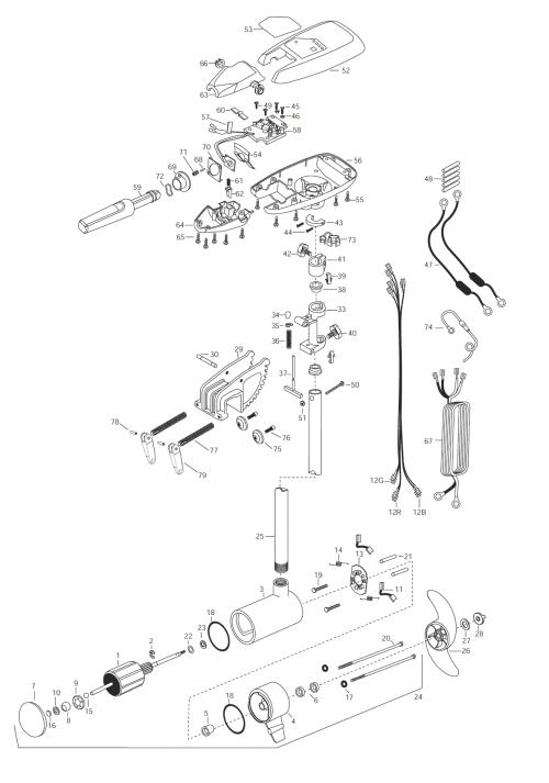 small resolution of minn kota riptide 101s parts 2003 from fish307 com rh fish307 com minn kota terrova 80 wiring diagram minn kota maxxum 80 parts diagram