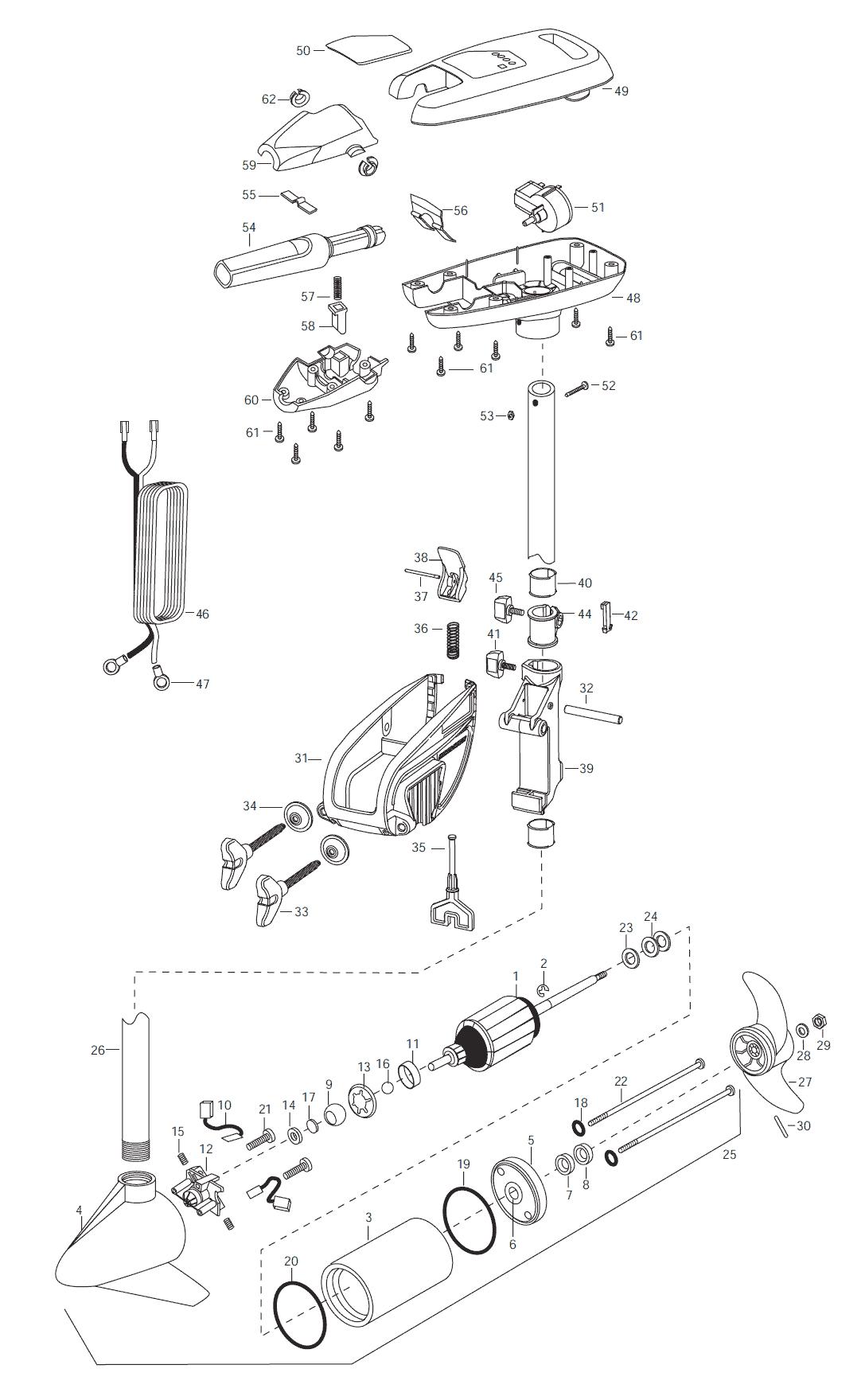 minn kota fortrex 80 parts diagram 1999 ford f150 speaker wiring riptide 42s 2003 from fish307