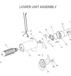 e drive lower unit assembly parts 2003 rh fish307 com minn kota deckhand 40 diagram minn [ 1082 x 826 Pixel ]