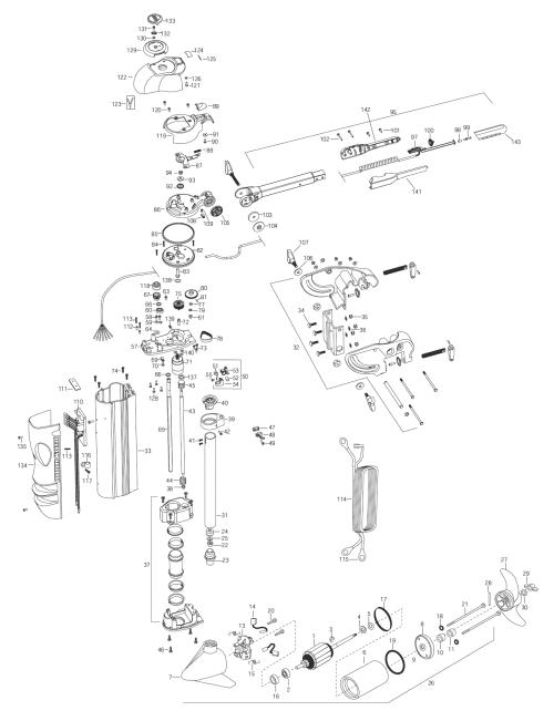 small resolution of minn kota talon parts diagram wiring hub
