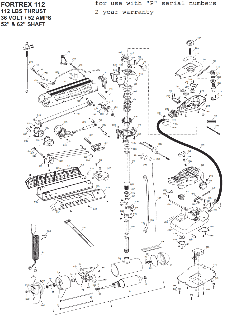 Installation Instructions Minn Kota Trolling Motor