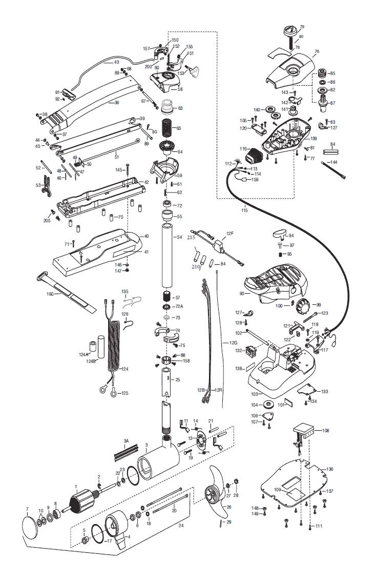 medium resolution of minn kota maxxum 74 wiring diagram 34 wiring diagram minn kota riptide rt80 minn kota part 2323501