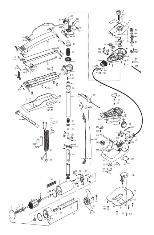 small resolution of minn kota maxxum 74 wiring diagram 34 wiring diagram minn kota riptide rt80 minn kota part 2323501