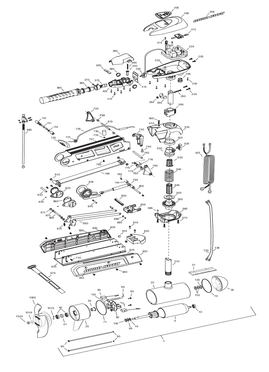 hight resolution of minn kota riptide 112 sf parts 2015 from fish307 com minn kota 12v wiring schematic minn kota riptide 70 wiring diagram