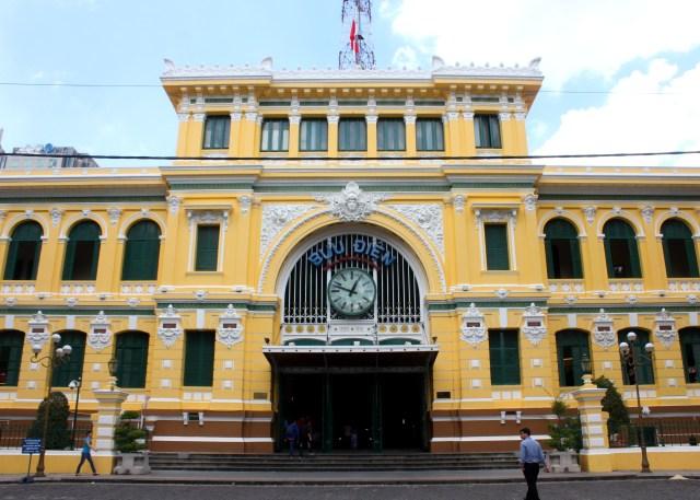 胡志明第一郡中央邮局