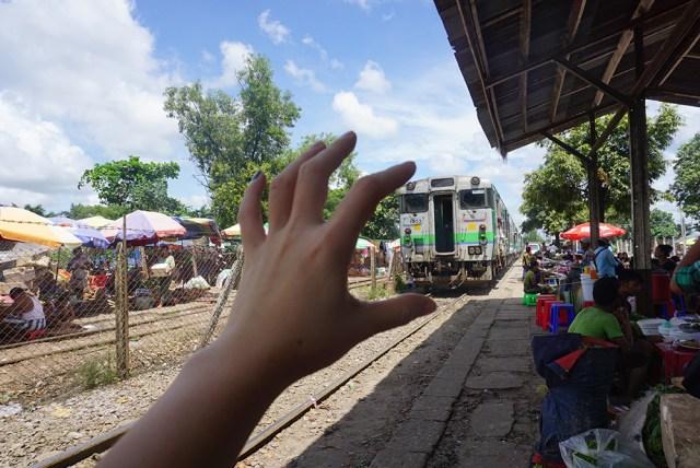 缅甸-火车-环游-仰光-行程