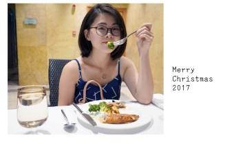 圣诞节去Shangri-La Hotel的Lemon Garden吃自助餐和交换礼物