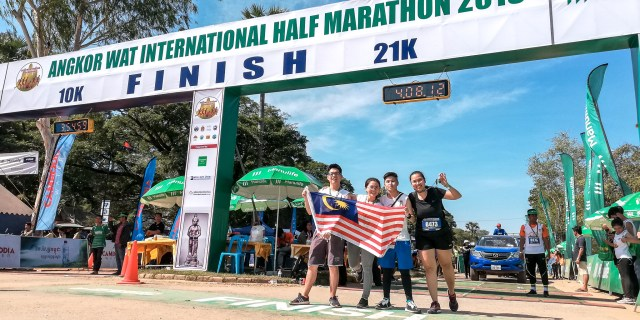 吴哥窟马拉松21km