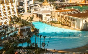 澳门住宿 | Hotel Okura Macau 575米空中激流 全球最大空中冲浪池 任你玩