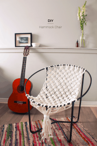 DIY Macrame Hammock Chair