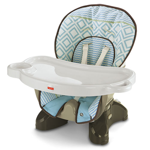 Fisher Price SpaceSaver High Chair  Teal Tempo High