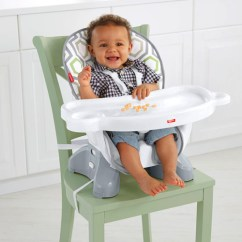 Space Saving High Chair World Market Chairs Dining Fisher Price Spacesaver Geo Meadow Dkr70