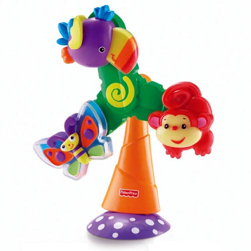high chair suction toys covers ebay.ca rainforest™ twist & spin toy