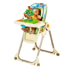 Rainforest High Chair Slip Covers For Chairs Fisher Price Healthy Care W3066