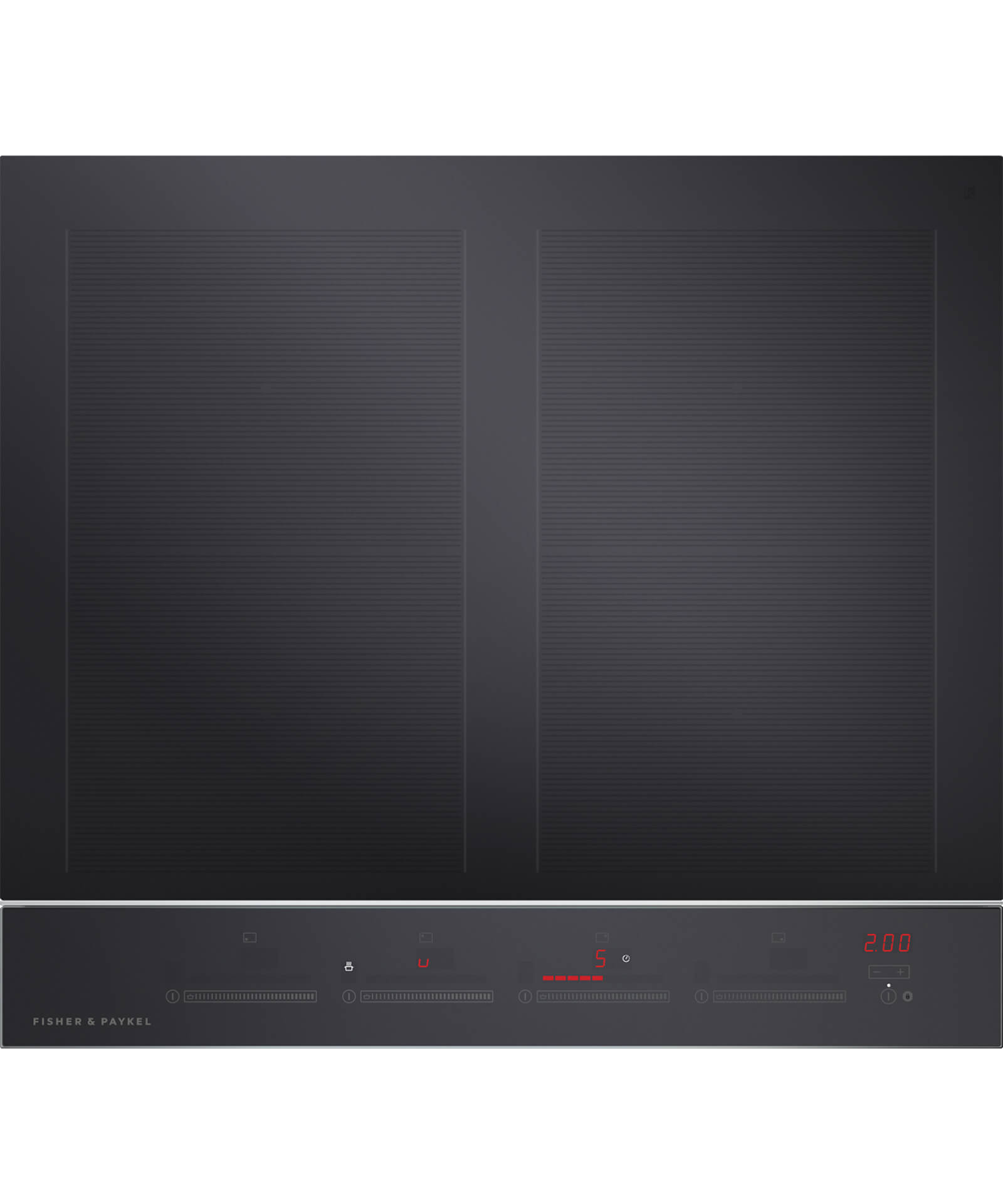 CI244DTB2N 24 4 Zone TouchampSlide Induction Cooktop