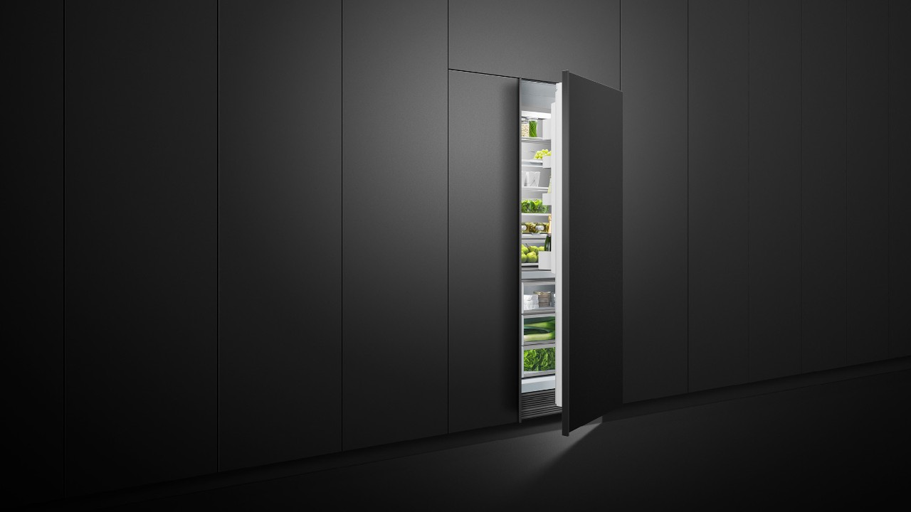 hight resolution of column refrigerators freezers with variable temperature zones