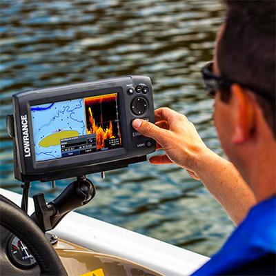 Lowrance Elite-7 HDI FishFinder