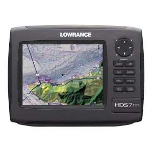 Lowrance HDS-7M depth finder