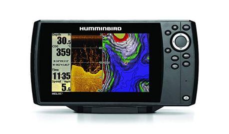 Humminbird 409830-1 Helix 7 DI GPS/Fishfinder with Down Imaging Sonar