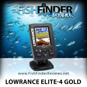 Lowrance Elite-4 Gold