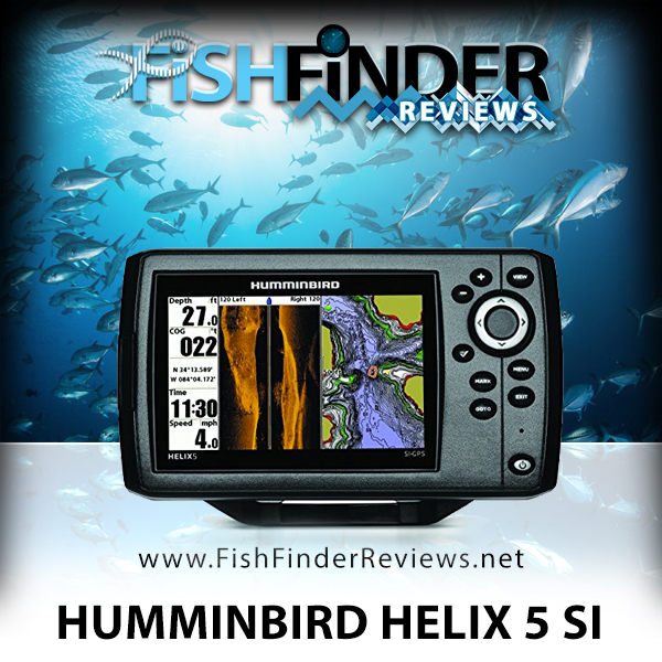 humminbird helix 5 si fish finder