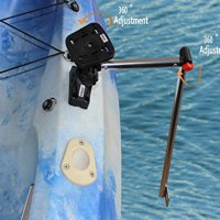 Brocraft Transducer Arm Mount + Universal Fishfinder mount