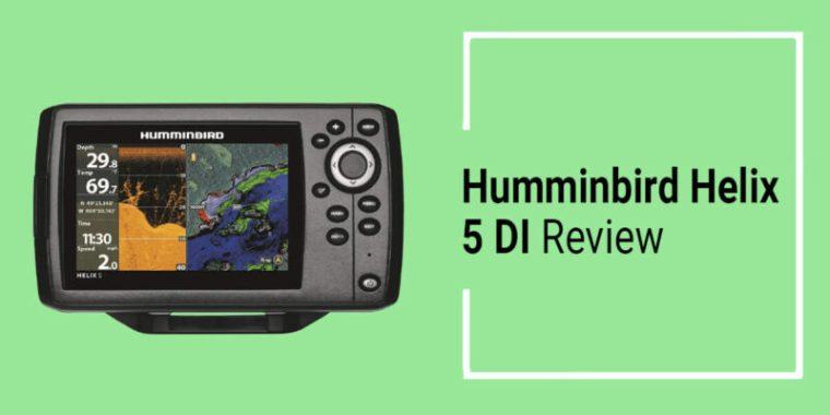 Humminbird Helix 5 DI Review Down Imaging GPS Fish Finder