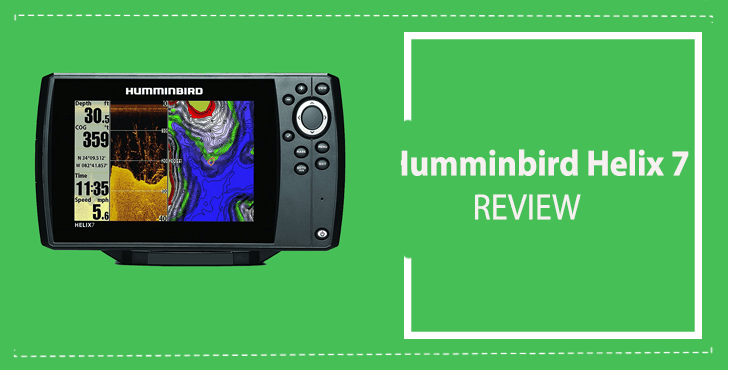 Humminbird HELIX 7 Review : Amazing GPS Fishfinder and Chartplotter