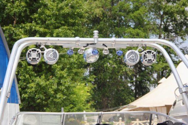 wakeboard tower speakers, best wakeboard tower speakers, kicker wakeboard tower speakers