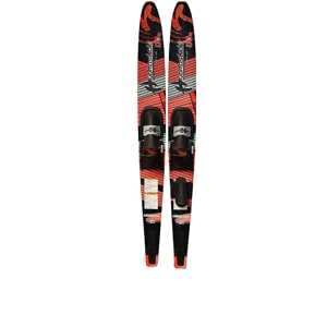 nash deluxe hydroslide adult water skis, hydroslide water skis, slalom water ski, slalom water skis for sale